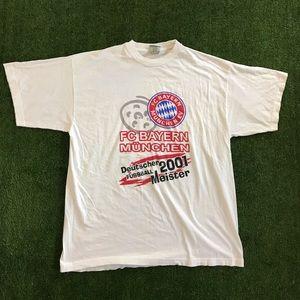 Other - Bayern Munich 2001 Deutscher Fussball Meister Tee